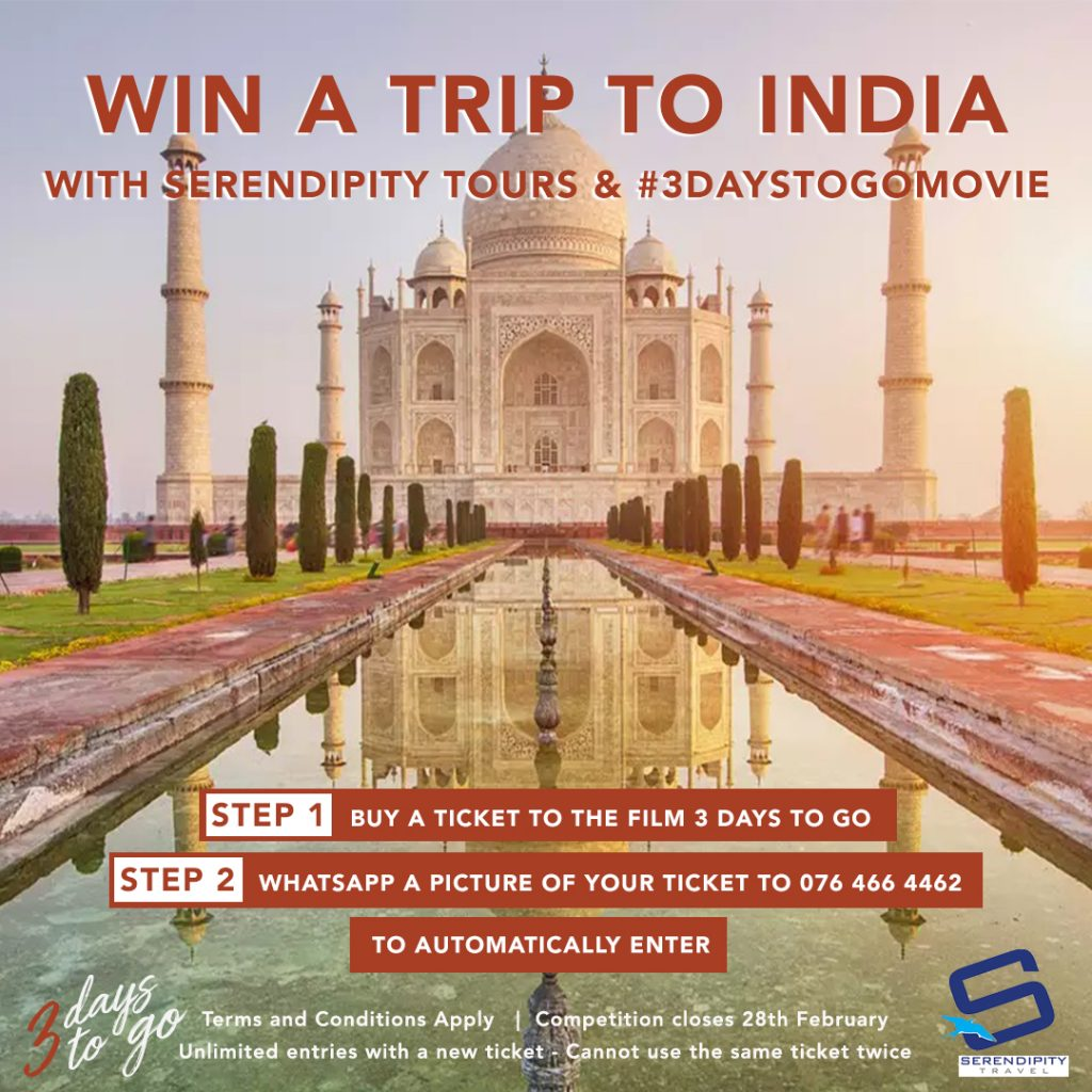 WIN A TRIP TO INDIA for 2! 🛬 – AlfonzoWords